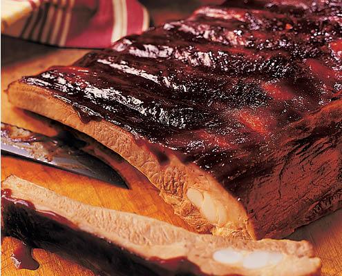 Buehler's Smokehouse BBQ ribs