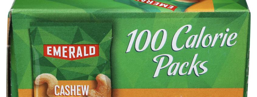 Emerald Cashews 100 Calorie Pack