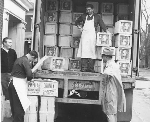 Buehler's Fresh Foods history delivery truck