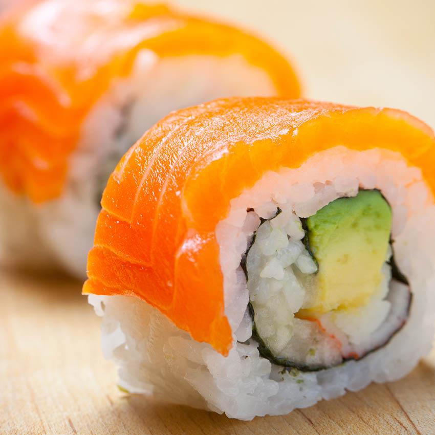 California Dragon Roll at Buehler's Sushi Kabar