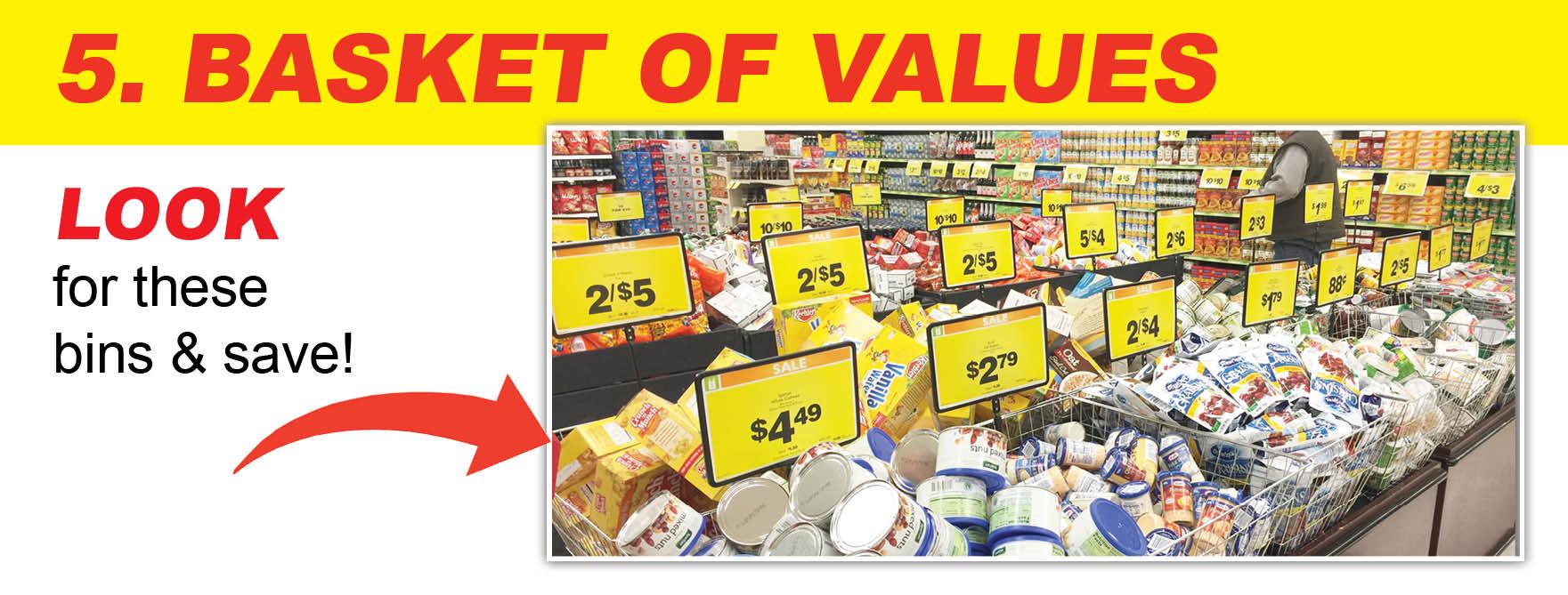 Baskets of Value