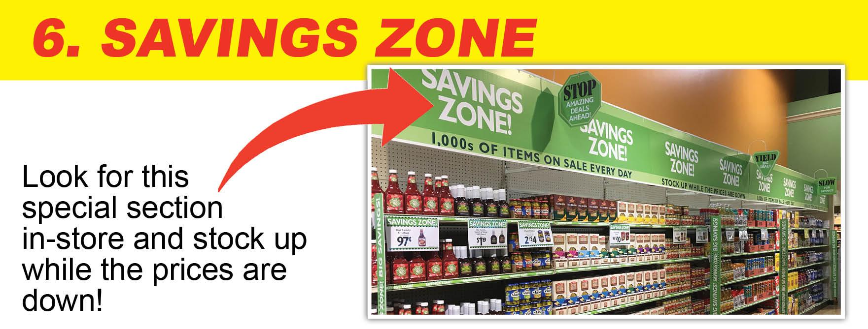 Buehler's Savings Zone