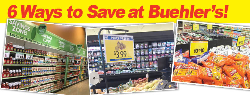 6 ways to save at Buehler's