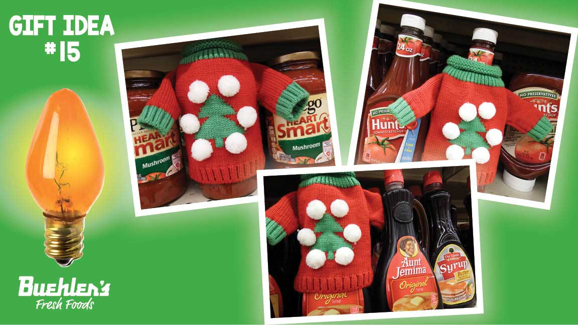 Ugly Wine Sweaters - looks good on any bottle (wine or other foods!)