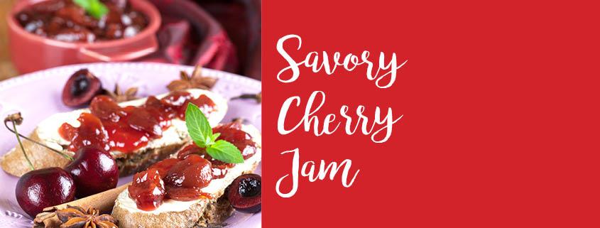 Savory Cherry Jam recipe