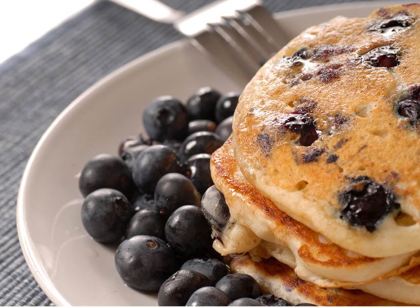 Buehler's Blueberry Pancakes