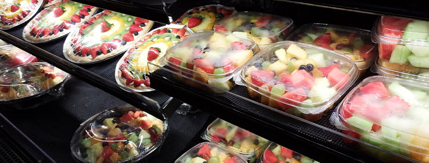Cut fruit - so easy for our customers to serve