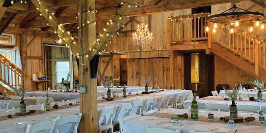 Buehler's caters weddings in many different venues