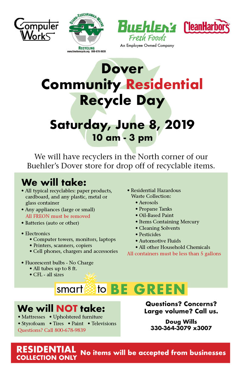 Dover Recycling Event